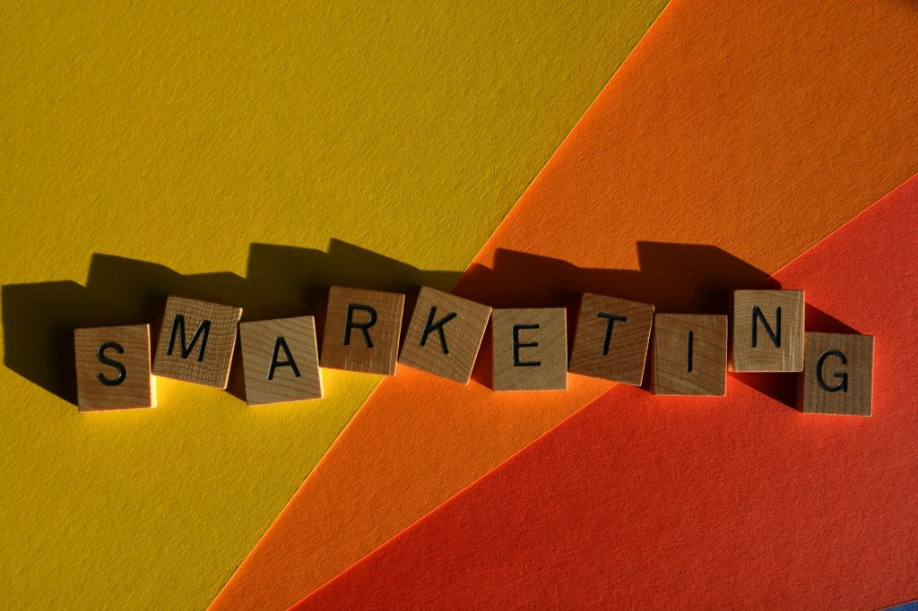 Smarketing, a modern buzzword made from a combination of Sales and Marketing